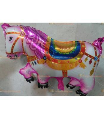 Toptan dev panayır atı helyum folyo uçan balon