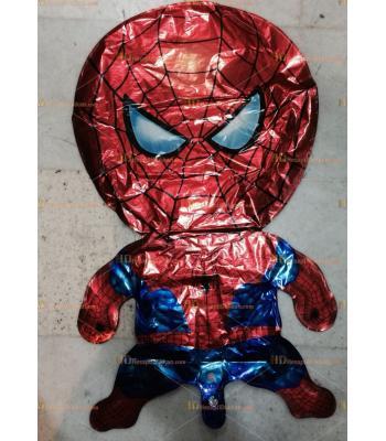 Toptan dev örümcek adam helyum folyo uçan balon