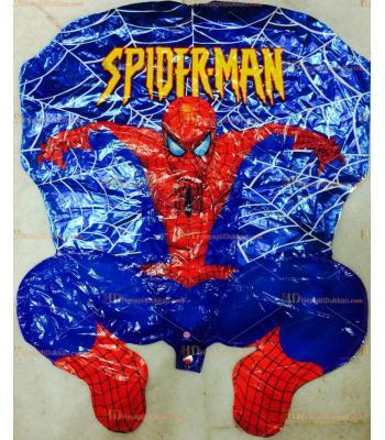 Toptan dev ağlı örümcek adam helyum folyo uçan balon