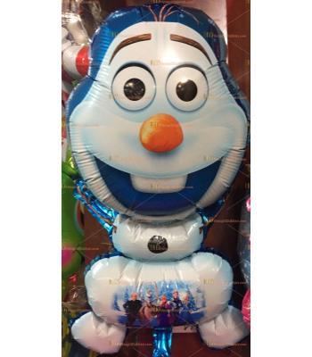 Toptan frozen olaf helyum folyo uçan balon