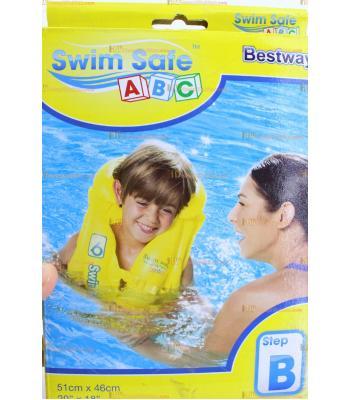 Toptan havuz deniz şişme can yeleği 51 cm