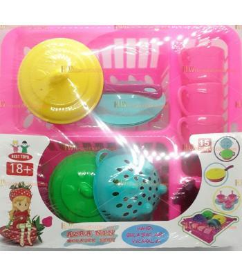 Toptan promosyon oyuncak yemek mutfak seti