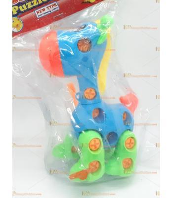 Toptan sök tak eğitici oyuncak zürafa