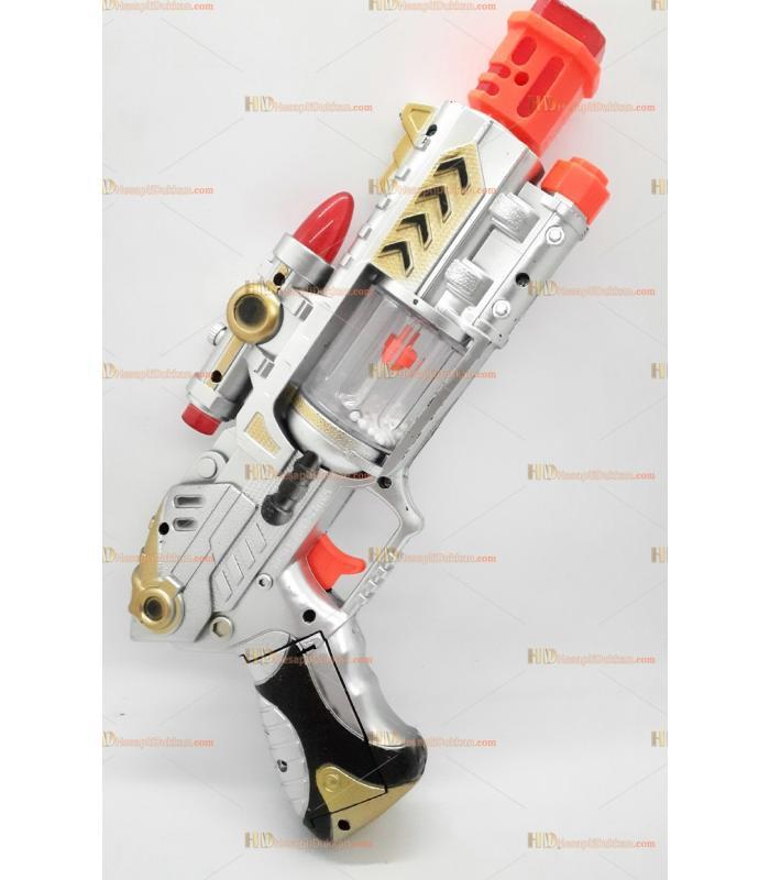 Toptan oyuncak tabanca ışıklı sesli pilli hareketli titreşimli