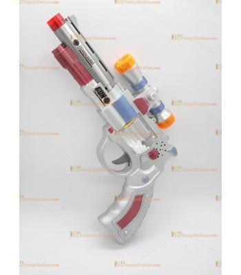 Toptan oyuncak tabanca silah ışıklı sesli pilli hareketli dürbünlü
