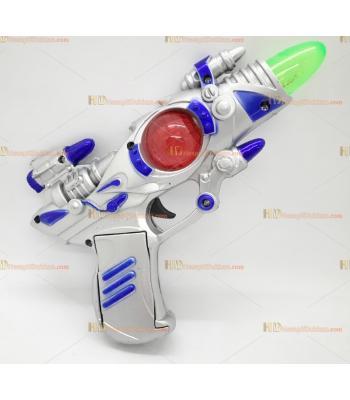Toptan oyuncak uzay tabanca silah ışıklı sesli pilli küçük