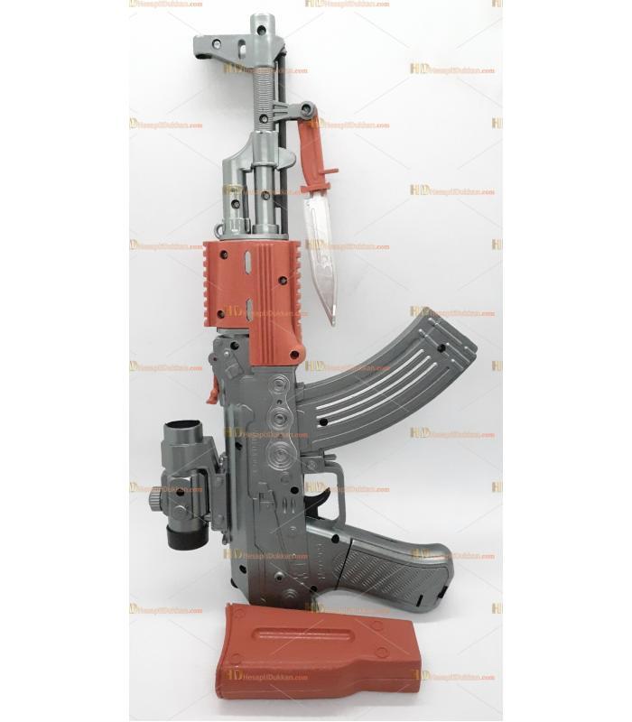 Toptan oyuncak tabanca ışıklı sesli pilli keleş