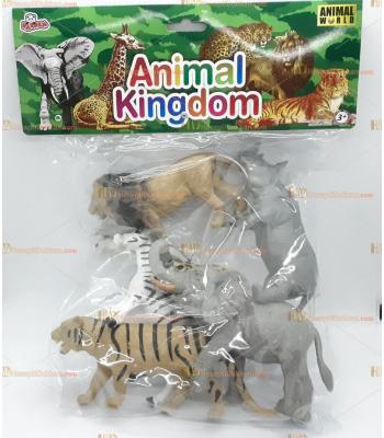 Toptan plastik hayvan seti animal kingdom