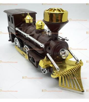 Toptan büyük boy it bırak tren oyuncak kahve