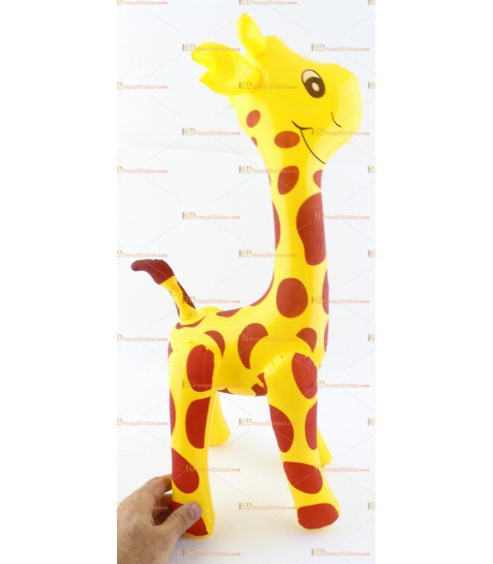 Toptan plastik hayvan şişme balon zürafa