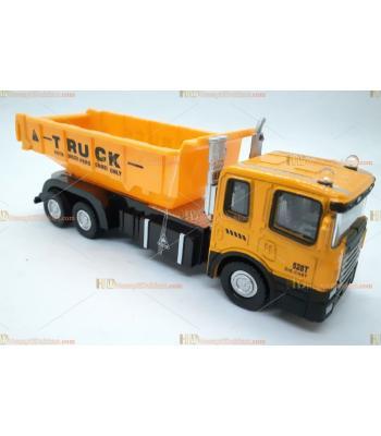 Toptan oyuncak çek bırak metal sesli ışıklı iş makinesi kamyon
