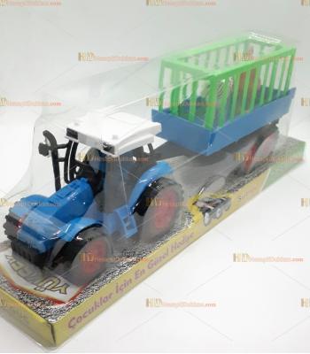 Toptan kasalı it bırak traktör oyuncak