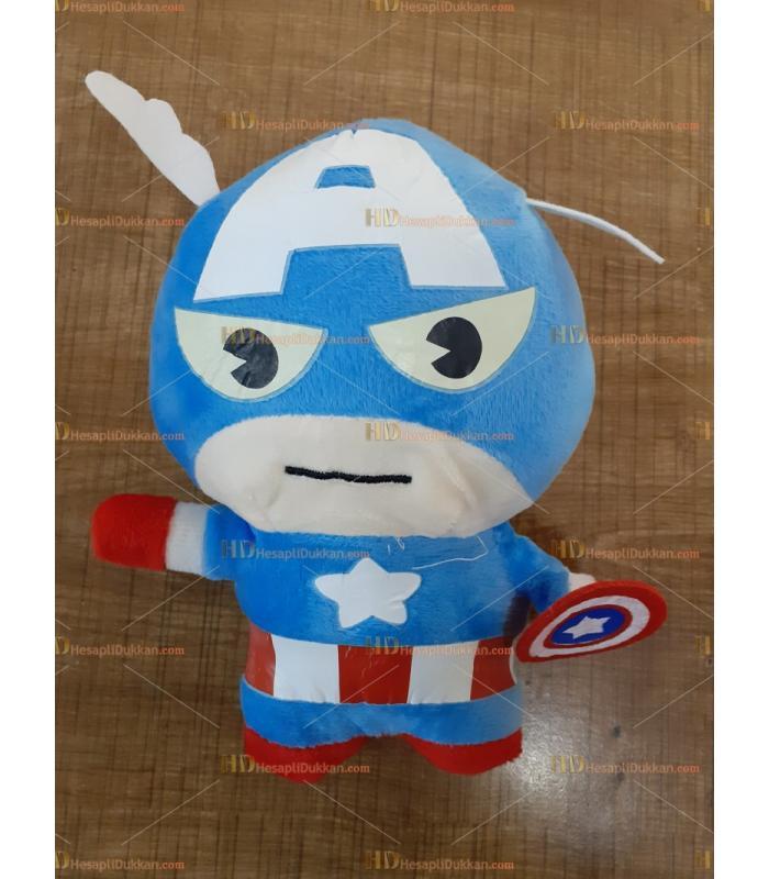 Toptan peluş oyuncak 20 cm kaptan amerika