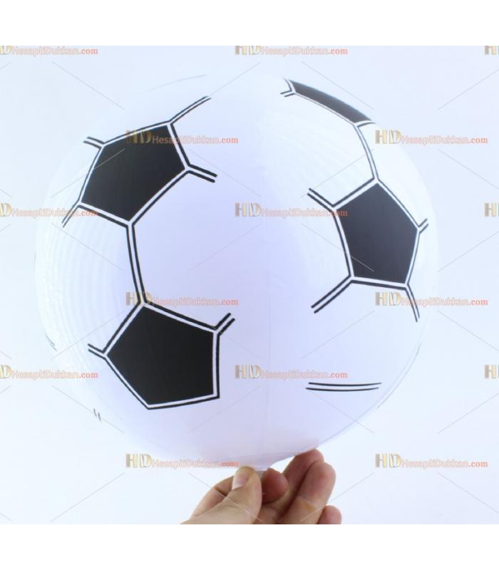 Toptan plastik hayvan şişme balon deniz topu siyah beyaz