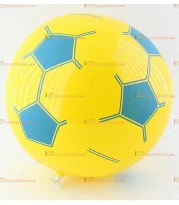Toptan plastik hayvan şişme balon deniz topu sarı lacivert