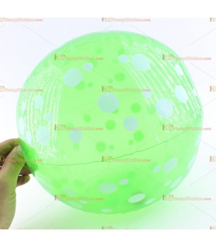 Toptan plastik hayvan şişme balon deniz topu yeşil