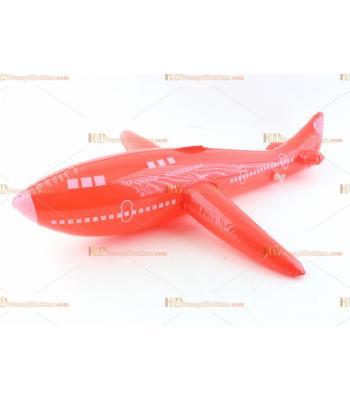 Toptan plastik hayvan şişme balon küçük uçak kırmızı