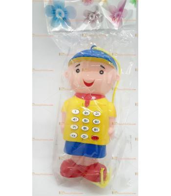 Toptan kolye ipli telefon calliou tuşlu oyuncak