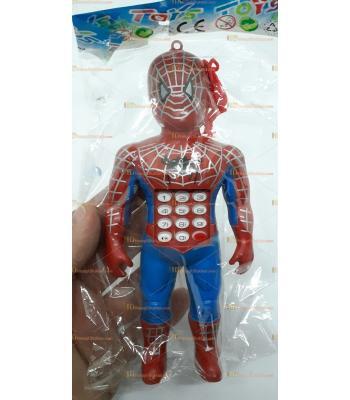 Toptan kolye ipli telefon örümcek tuşlu oyuncak