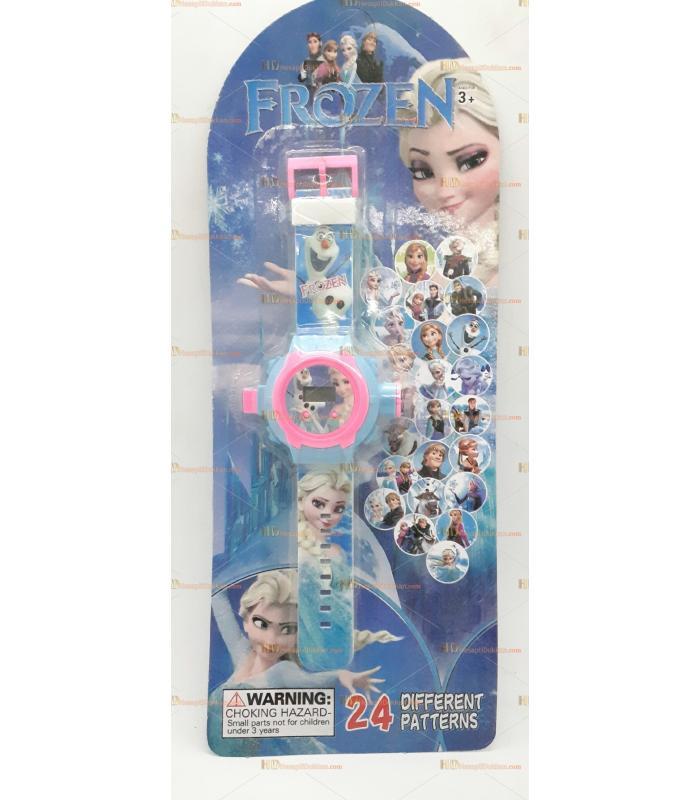 Toptan oyuncak projeksiyonlu yansıtmalı saat frozen