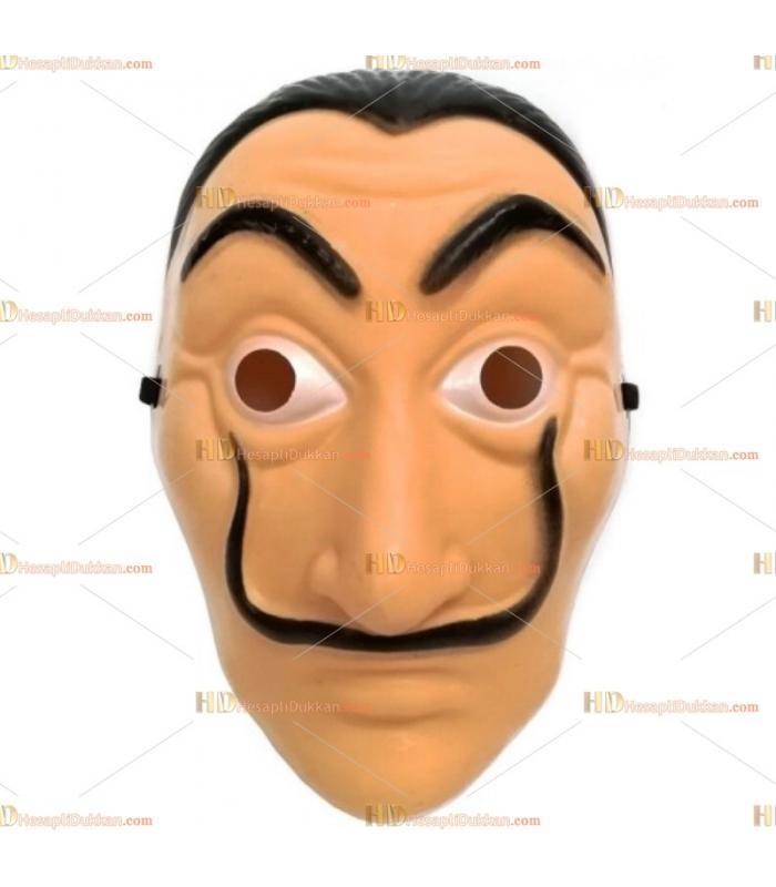 La casa de papel maske toptan parti malzemesi