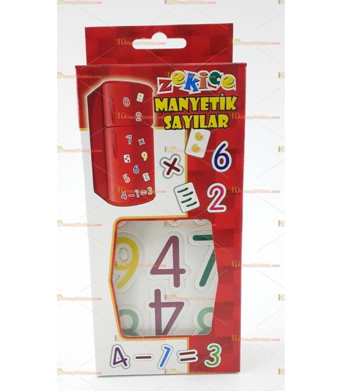 Buzdolabı magnet manyetik sayılar