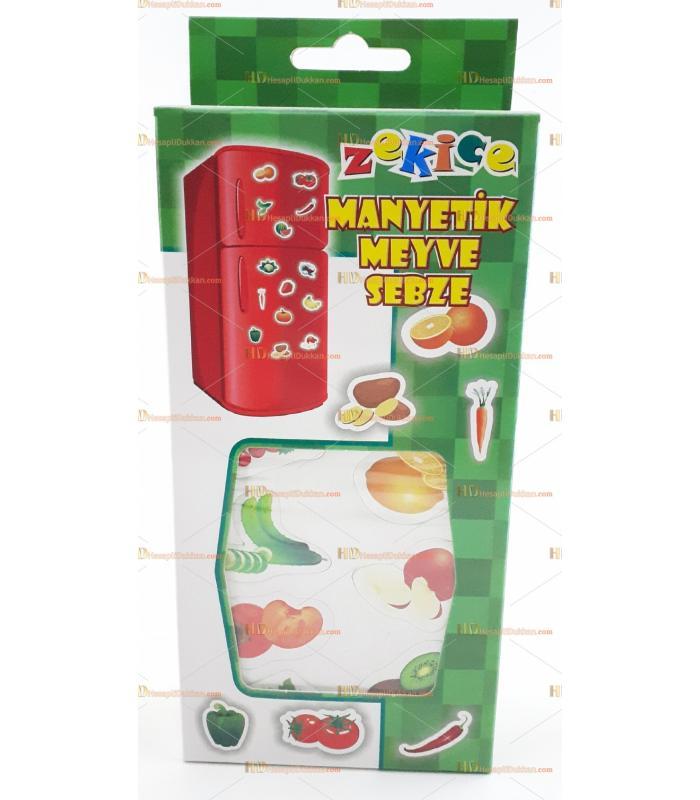 Buzdolabı magnet manyetik meyve sebze