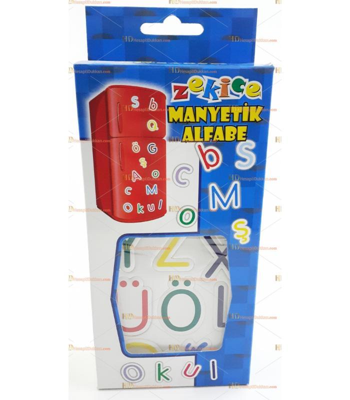 Buzdolabı magnet manyetik alfabe