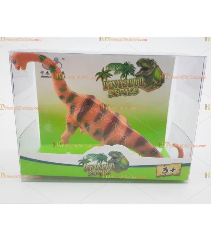 Minik şirin dinozor oyuncak promosyon kutulu uzun dino