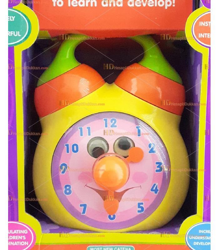 Eğitici oyuncak çalar saat müzik kutusu
