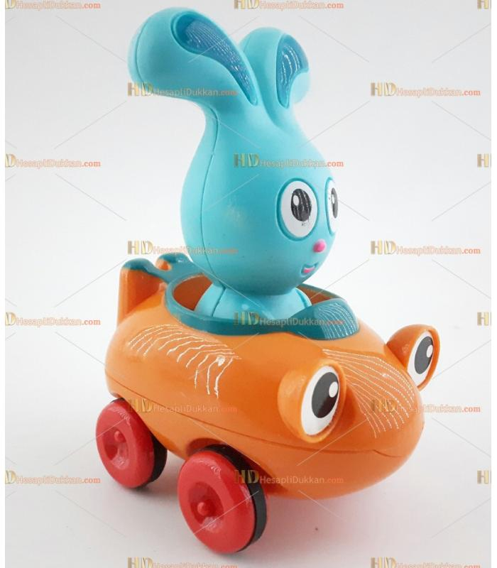 Kırılmaz sök tak oyuncak araba it bırak motorlu tavşan