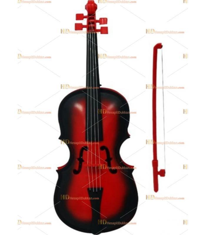 Oyuncak keman pilli violin sesli müzikli ucuz fiyat