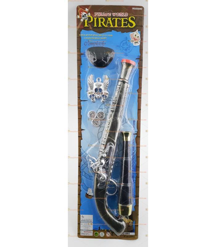 Korsan silah tabanca set oyuncak kostüm