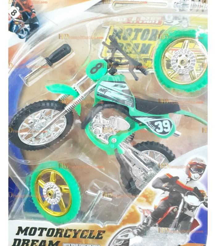 Metal oyuncak sök tak arazi motoru