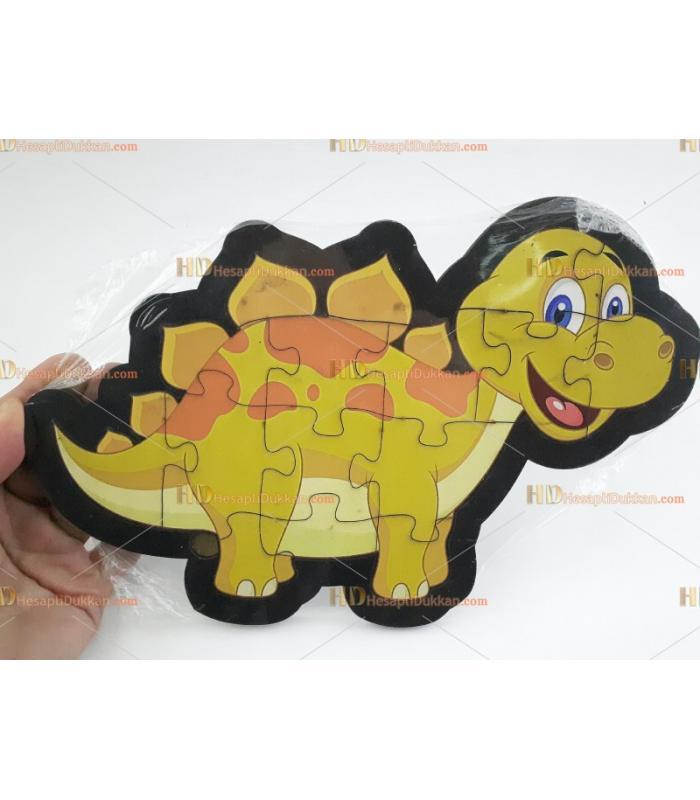 Ahşap puzzle toptan dinozor