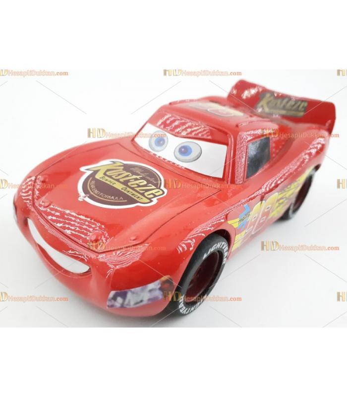Toptan oyuncak araba metal şimşek mcqueen