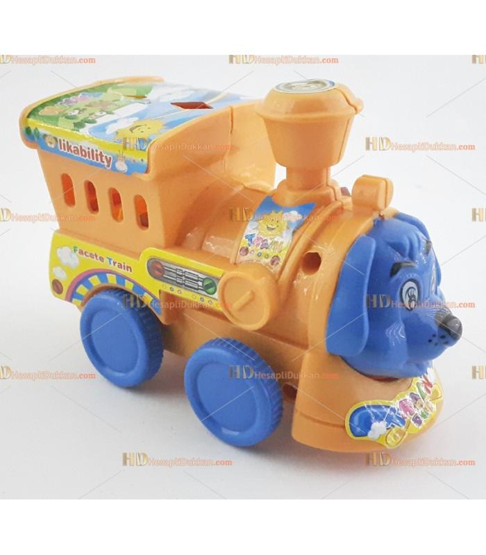 Toptan ipli zilli köpek promosyon oyuncak tren
