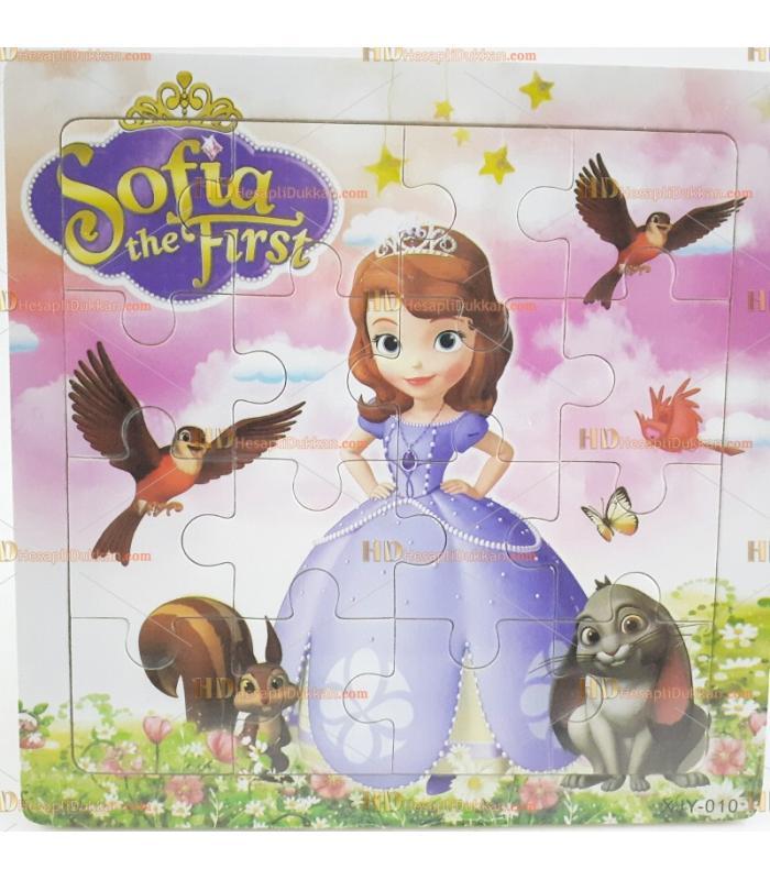 Toptan yapboz puzzle ahşap oyuncak prenses sofia