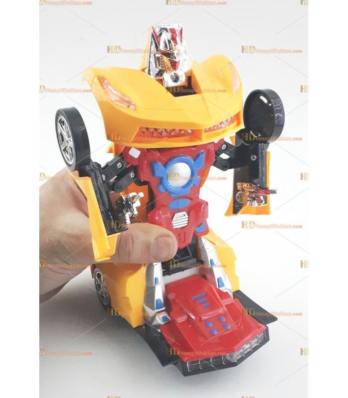 Oyuncak robot olan araba toptan fiyatı satış