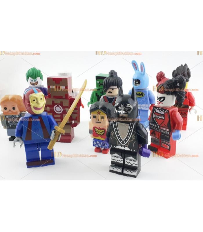 Toptan roblox oyuncak figür tekli satılır