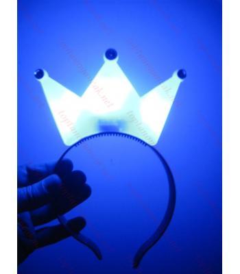 Toptan ışıklı kral taç mavi