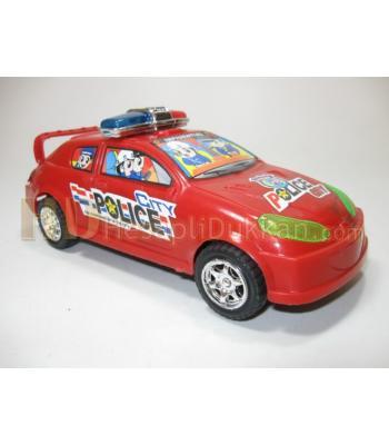 Kırmızı polis arabası toptan oyuncak