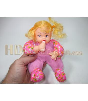 Emzikli sesli bez bebek oyuncak promosyon