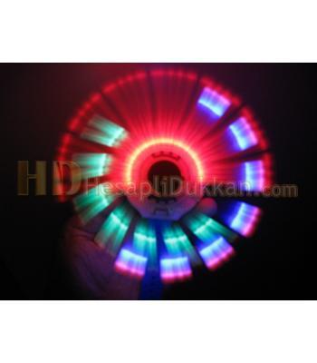 Pervaneli ışıklı müzikli bileklik toptan oyuncak