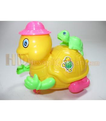 İpli çekmeli zilli oyuncak kaplumbağa toptan oyuncak