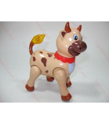 Yürüyen müzikli inek oyuncak toptan