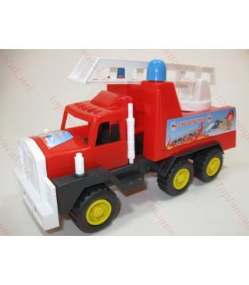 İtfaiye arabası kırmızı
