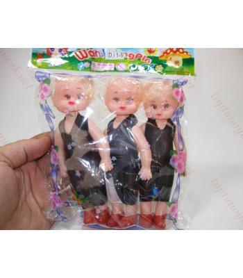 Üçlü poşet bebek