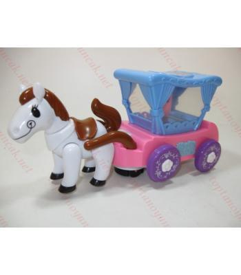 At arabası ışıklı müzikli oyuncak