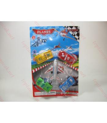 Arabalı uçak set oyuncak toptan